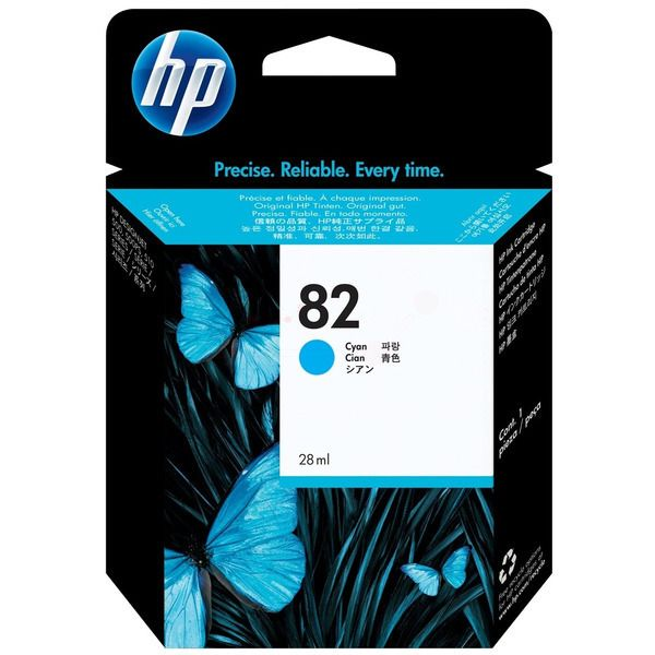 HP 82 Original Tintenpatrone cyan