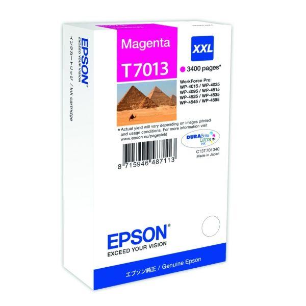 Epson T7013 Original Tintenpatrone magenta XXL