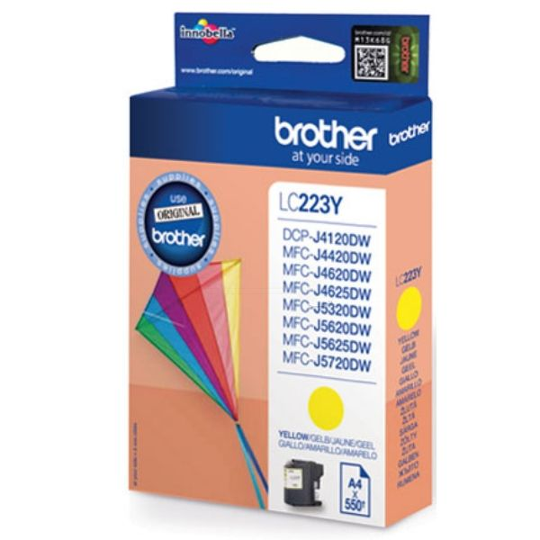 Brother LC-223Y Original Tintenpatrone gelb