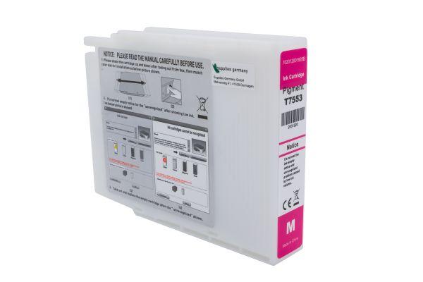 Alternativ zu Epson T7553 Druckerpatrone magenta