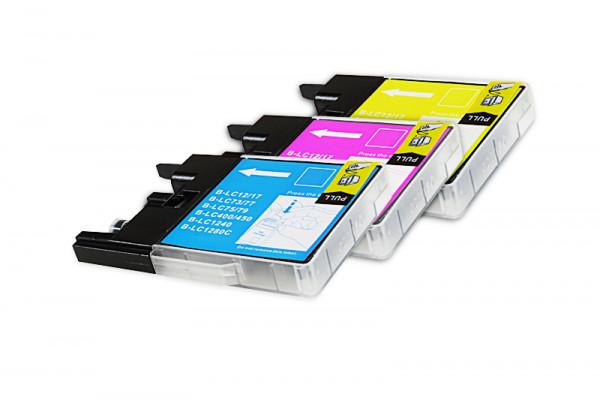 Alternativ zu Brother LC-1240RBWBPDR Tinten Multipack (C,M,Y) 3 Stück