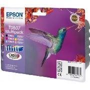 Epson T0807 Original Tintenpatrone MultiPack Bk,C,M,Y,LC,LM