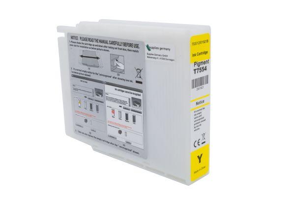 Alternativ zu Epson T7554 Druckerpatrone gelb