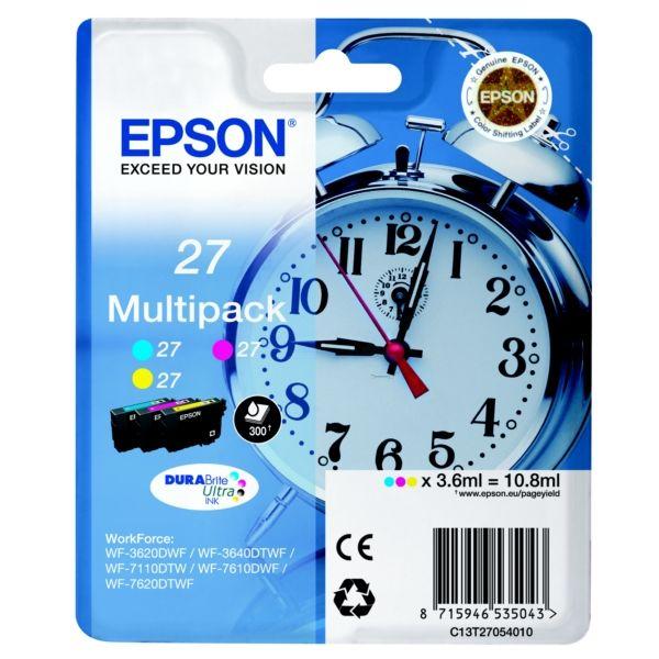 Epson 27 Original Tintenpatrone MultiPack C,M,Y