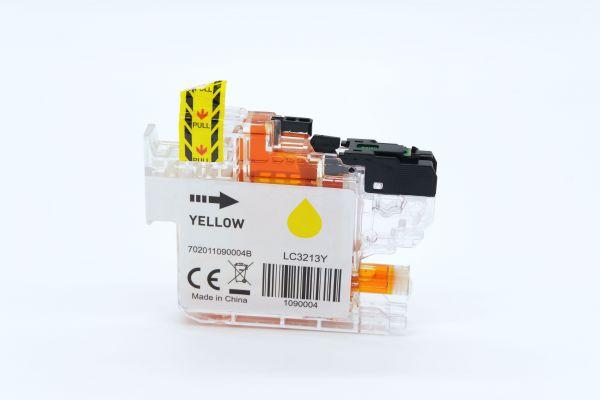 Alternativ zu Brother LC-3213Y Druckerpatrone gelb