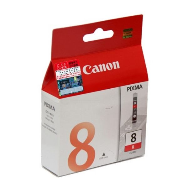 Canon CLI-8R Original Tintenpatrone rot