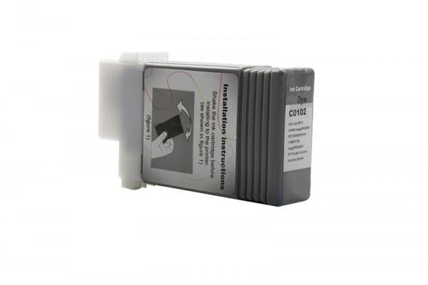Alternativ zu Canon PFI-102BK Tinte schwarz