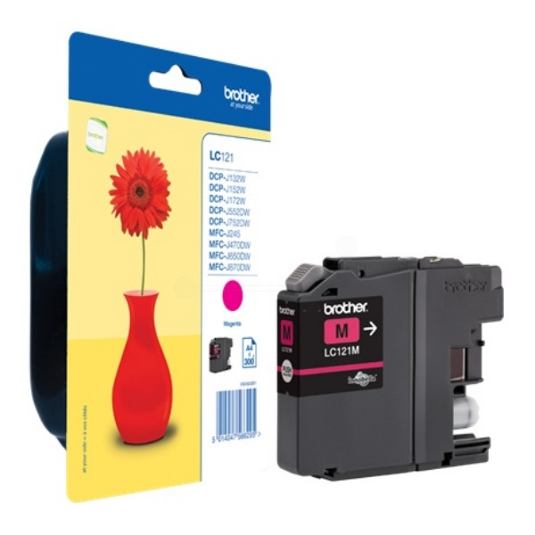 Brother Ink LC 121 Magenta 0,3k (LC121M)