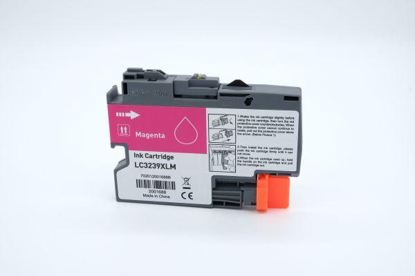 Alternativ zu Brother LC-3239XLM Druckerpatrone magenta