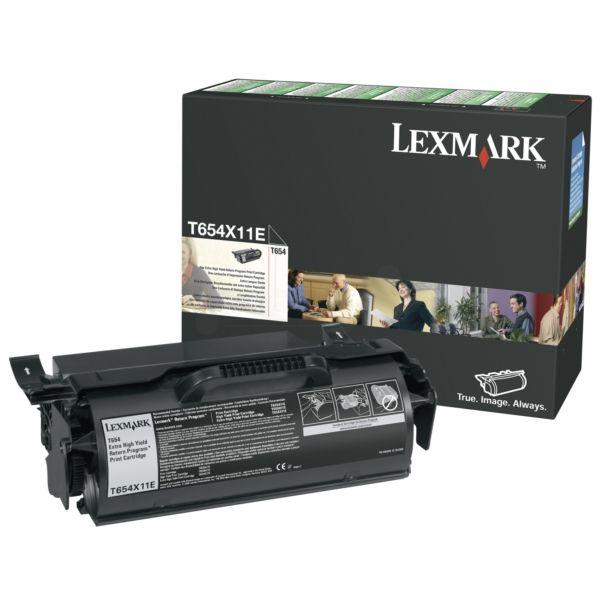 Lexmark T654X11E Original Tonerkartusche schwarz return program
