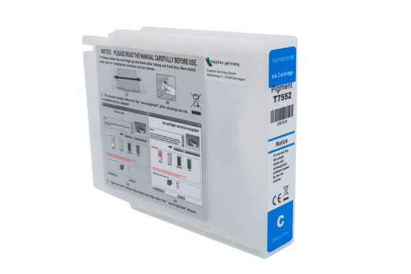 Alternativ zu Epson T7552 Druckerpatrone cyan