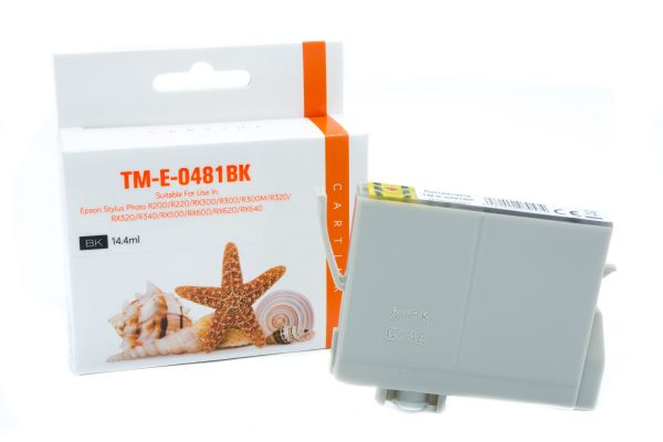 Alternativ zu Epson T0481 Druckerpatrone schwarz