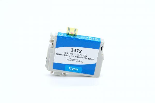 Alternativ zu Epson 34XL Druckerpatrone cyan