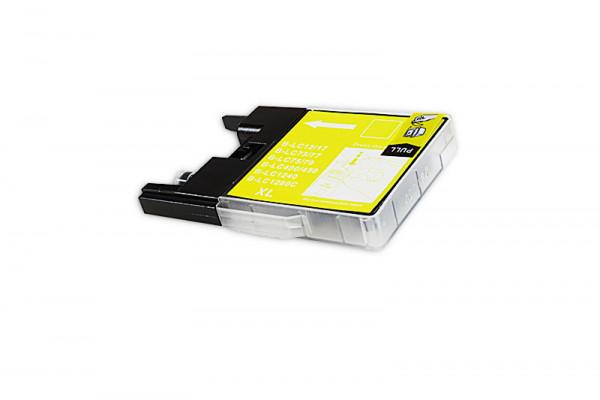 Alternativ zu Brother LC-1280XLY Tinte gelb High-Capacity
