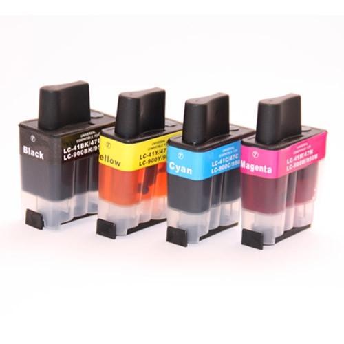 Alternativ zu Brother LC-900VALBPDR Tinte Multipack Bk,C,M,Y