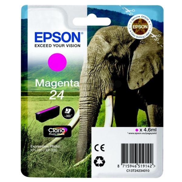 Epson 24 Original Tintenpatrone magenta