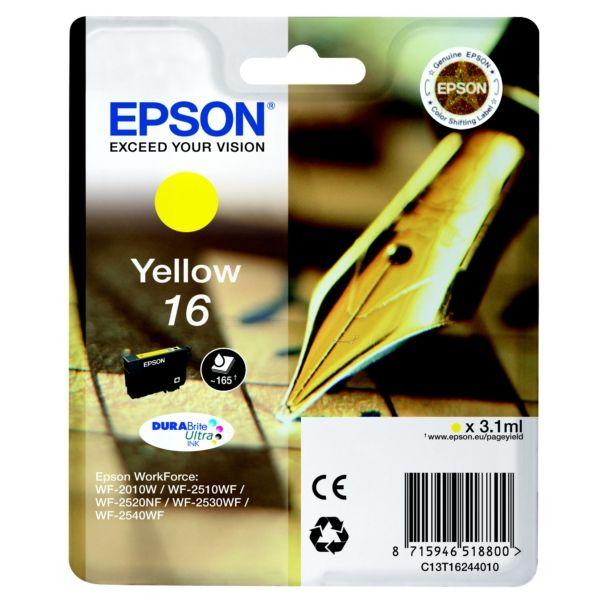 Epson 16 Original Tintenpatrone gelb