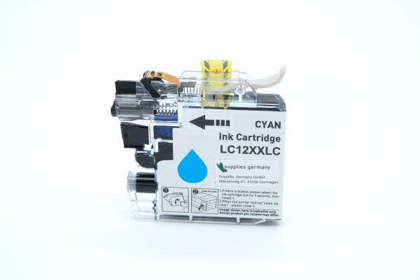 Alternativ zu Brother LC-12EC Druckerpatrone cyan