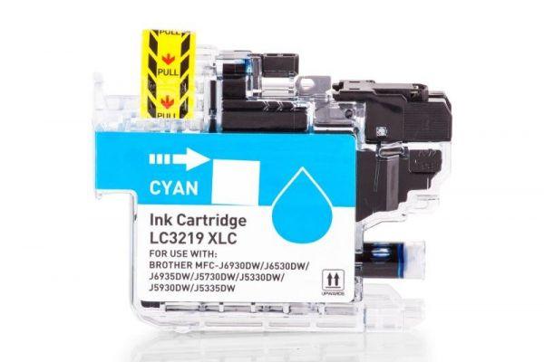 Alternativ zu Brother LC-3219XLC Druckerpatrone cyan