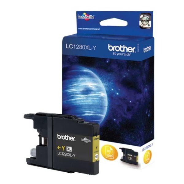 Brother LC-1280XLY Original Tintenpatrone gelb High-Capacity
