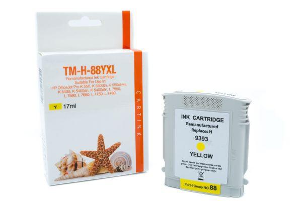 Alternativ zu HP 88XL Druckerpatrone gelb High-Capacity
