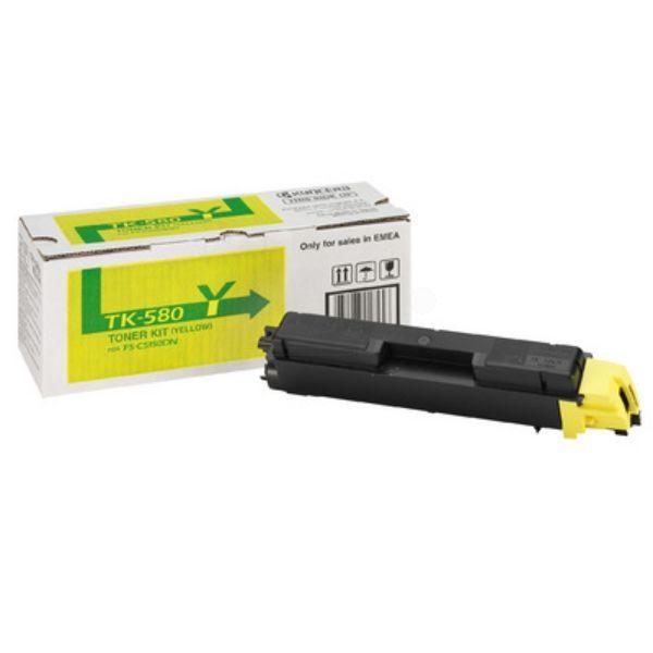 Kyocera TK-580Y Original Toner gelb