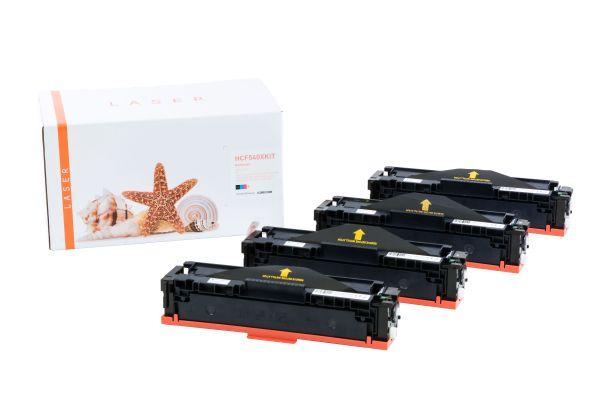 Alternativ zu HP 203A 203X Toner MultiPack Bk,C,M,Y