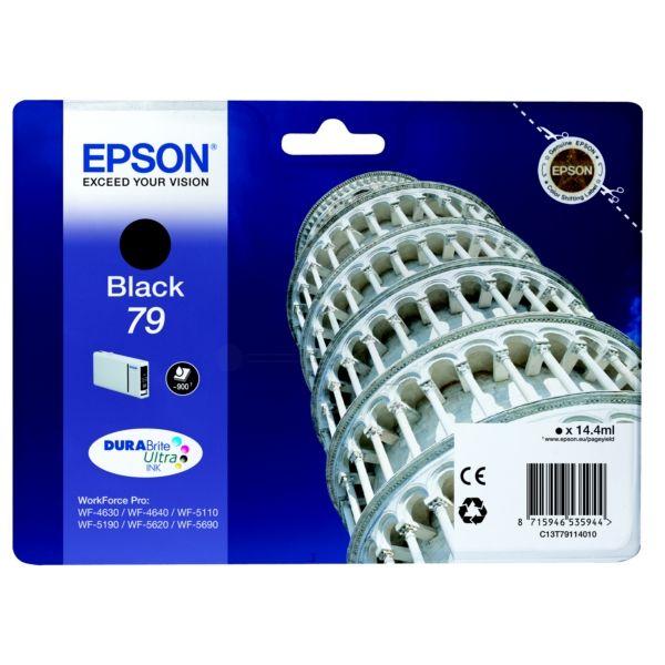 Epson 79 Original Tintenpatrone schwarz