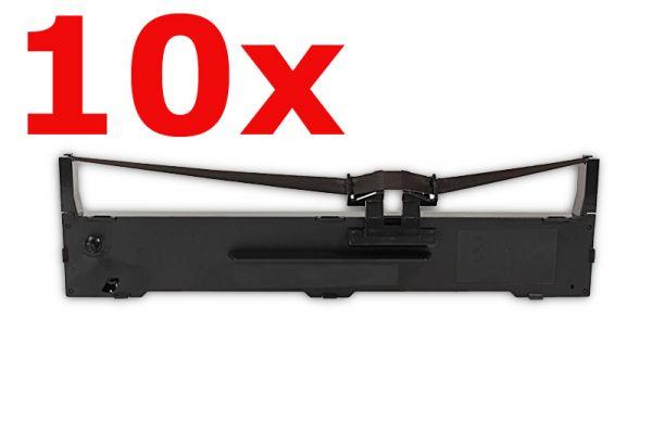 Epson C13S015021/7753 Nylonband Black Spar-Set(10 Stk.) kompatibel