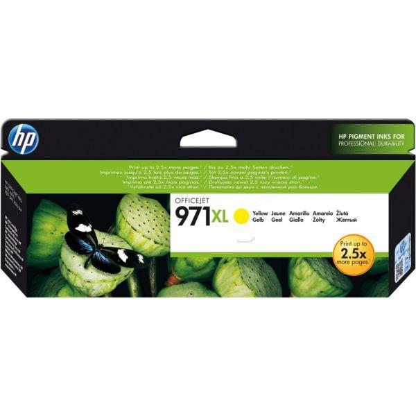 HP 971XL Original Tintenpatrone gelb