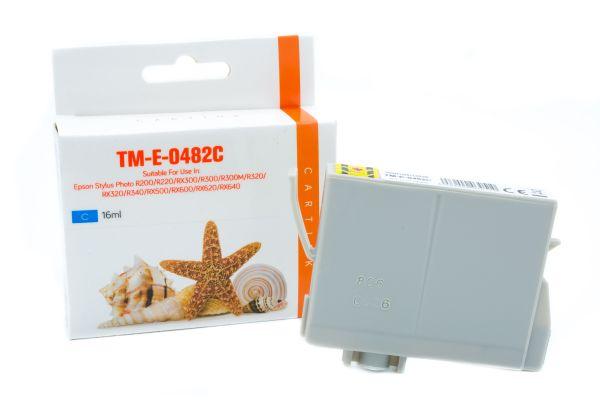 Alternativ zu Epson T0482 Druckerpatrone cyan