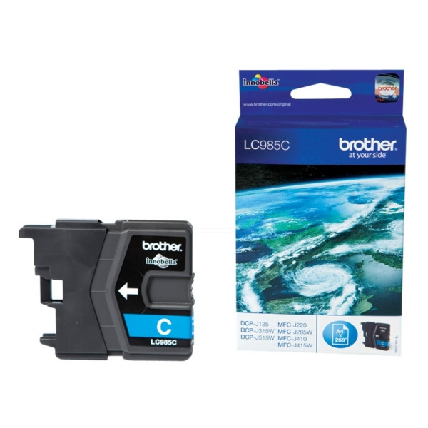 Brother Ink LC 985 Cyan (LC985C) 0,26k