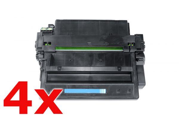 Alternativ zu HP Q7551XXL Toner Spar Set (4 Stück)