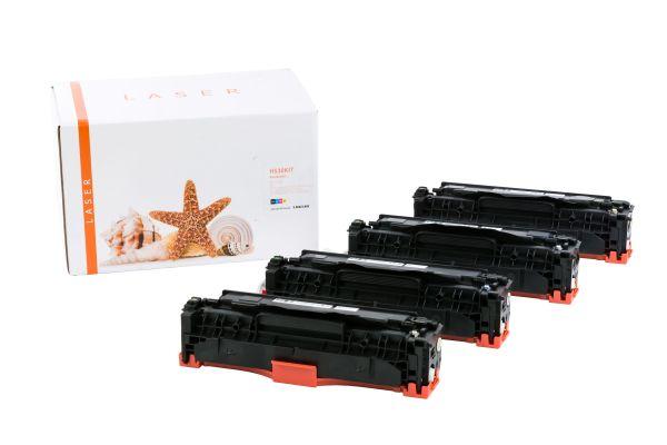 Alternativ zu HP 304A Toner MultiPack Bk,C,M,Y