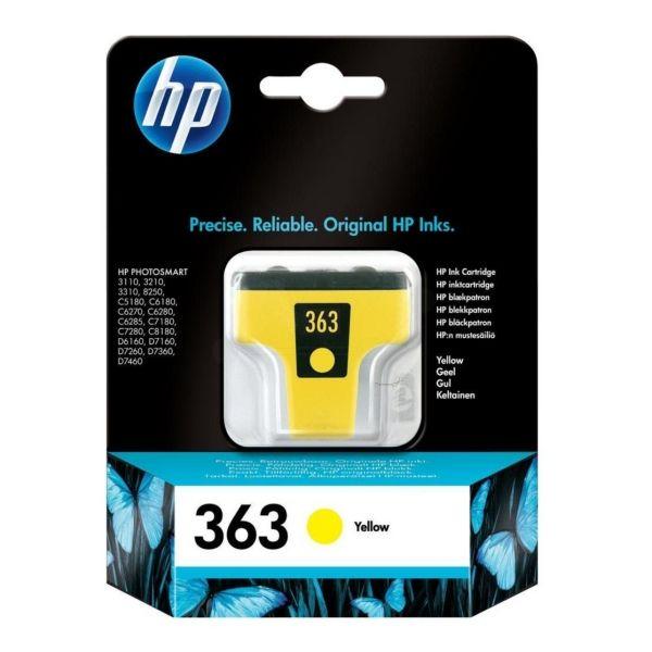 HP 363 Original Tintenpatrone gelb