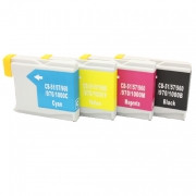 Alternativ zu Brother LC-970VALBP Tinte Multipack Bk,C,M,Y Doppelpack