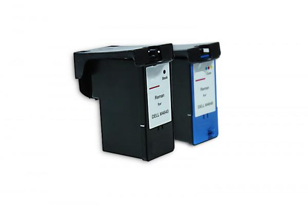 Alternativ zu Dell MK992 / MK993 Tinten Multipack (BK, CMY) 2 Stück
