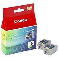 Canon BCI-16C Original Tintenpatrone color Doppelpack