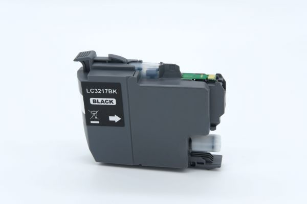 Alternativ zu Brother LC-3217BK Druckerpatrone schwarz