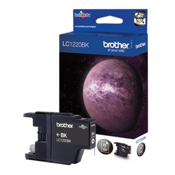 Brother Ink LC 1220 Black (LC1220BK) 0,3k