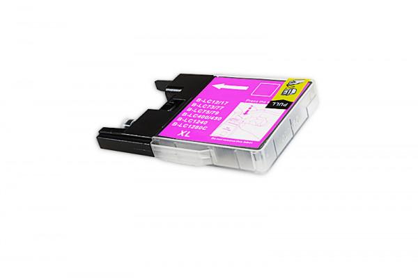 Alternativ zu Brother LC-1280XLM Tinte magenta High-Capacity