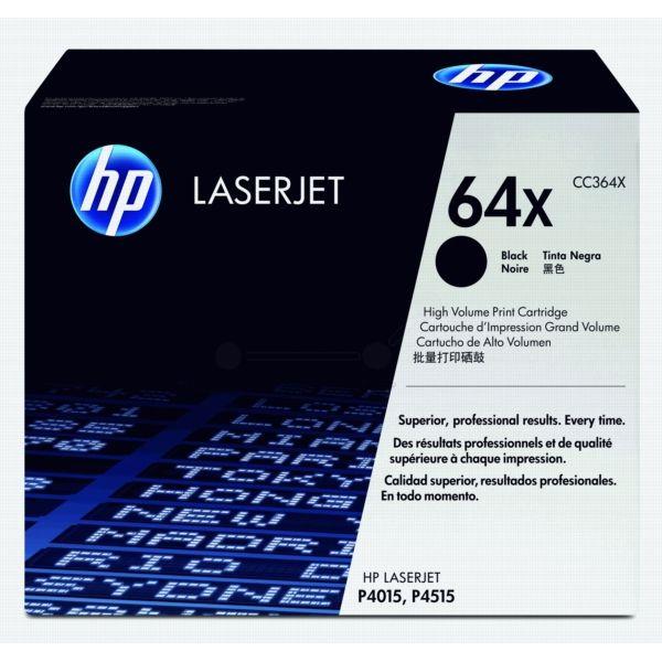 HP 64X Original Tonerkartusche schwarz
