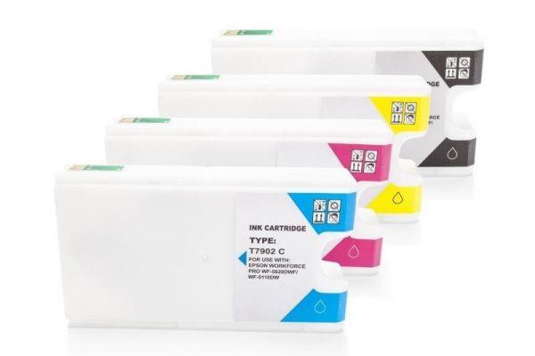 Alternativ zu Epson 79XL Tinten Spar-Set (BK,C,M,Y)