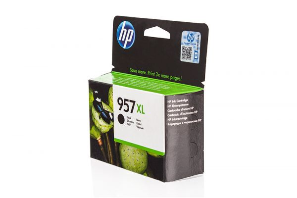 HP 957XL Original Tintenpatrone schwarz High-Capacity