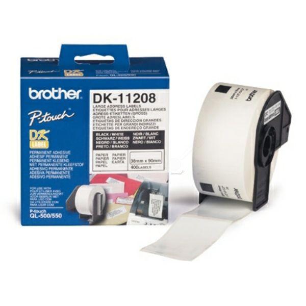 Brother DK-11208 Original P-Touch Etiketten