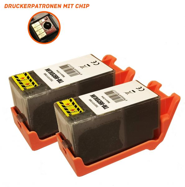 Alternativ zu HP 920XL Druckerpatronen schwarz Doppelpack