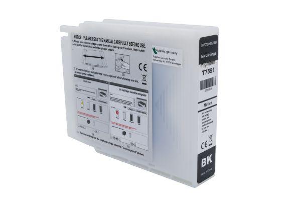 Alternativ zu Epson T7551 Druckerpatrone schwarz