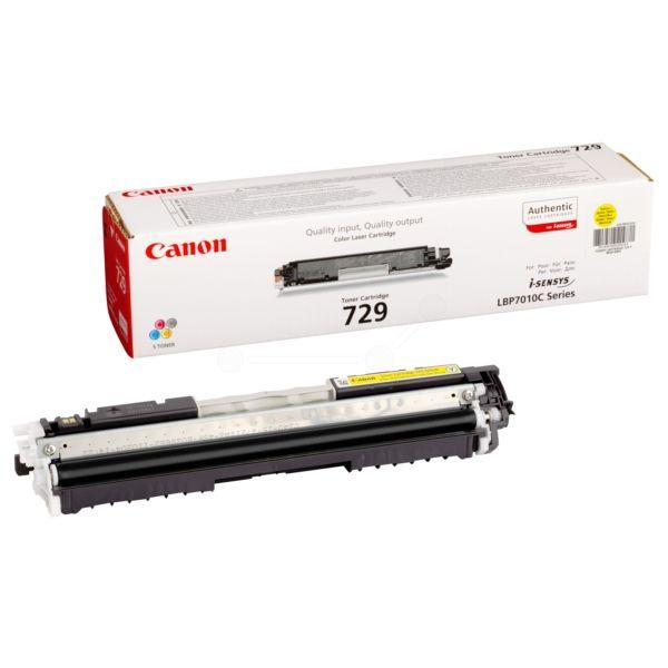 Canon 729Y Original Toner gelb