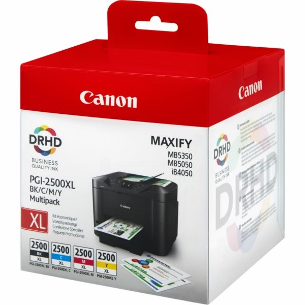 Canon PGI-2500XLBKCMY Original Tintenpatrone MultiPack Bk,C,M,Y